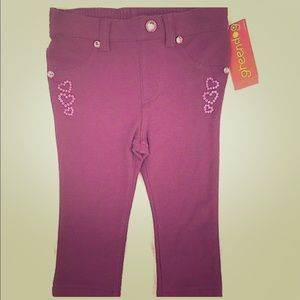 Greendog Baby Girls Size 24 Months Magenta Purple